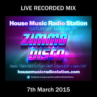 DJ Zimmo - Live Mix - HMRS 7th March 2015