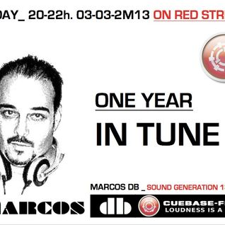 MARCOS DB (One year in tune) CUEBASE-FM.DE RADIO