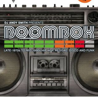 Andy Smith (Ex Portishead) Document 4 (unreleased mix)/ Boombox promo mix this Horse and Groom 26/9