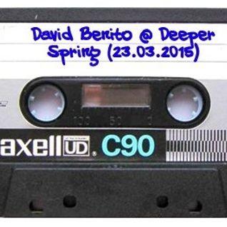 David Benito @ Deeper Spring 23.03.2015