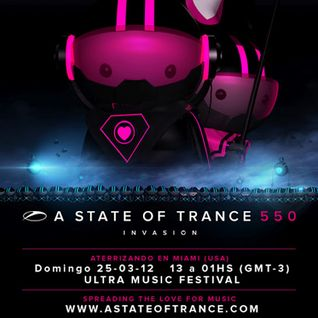 #ASOT550 - Dash Berlin - Live at Ultra Music Festival in Miami, Florida, FL (25.03.2012)