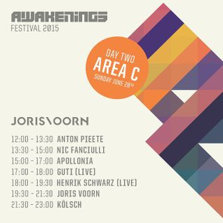Kolsch - live at Awakenings 2015, Day 2 Area C, Amsterdam - 28-Jun-2015