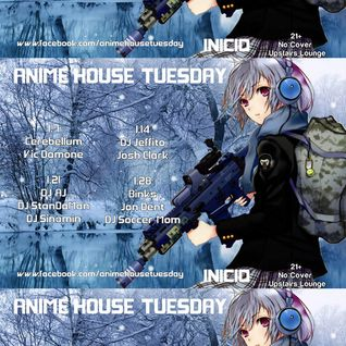 Josh Clark and Jeffito (b2b) - Live From Anime House Tuesday [2014-01-14]