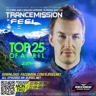 DJ FEEL - TOP 25 OF APRIL 2014 (28-04-2014)