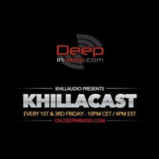 KhillaCast #053 5th August 2016 - Deepinradio.com