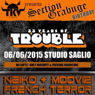 NEIKO vs MOOVIZ Liveset @ 33 YEARS OF TROUBLE 6.6.2oI5