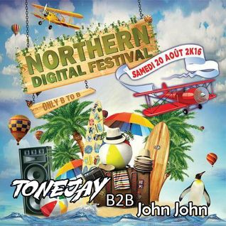 NORTHERN DIGITAL FESTIVAL 2016 (Annezin, FR) - TONEJAY b2b John John