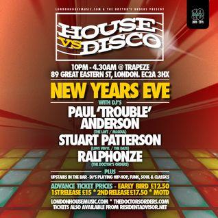 House vs Disco Mix by Ralphonze (Live Club Mix from Trapeze 21/11/15) @ralphonze90