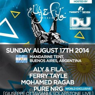 Sky Patrol (ReOrder & Ian Standerwick )Live @ Future Sound Of Egypt 350 , Argentina