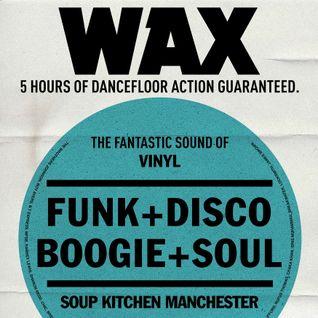 WAX -  Sept 2016 - Soup Kitchen