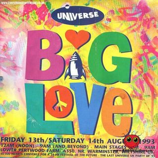 The Dj Producer @ Universe Big Love, August 1993