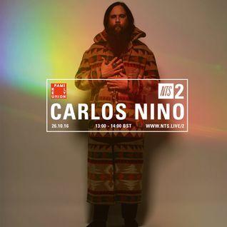 Carlos Niño - 26th October 2016