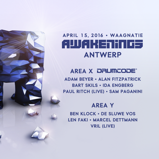 2016-05-02 Adam Beyer - Drumcode 300 (Live @ Awakenings, Waagnatie, Antwerp 2016-04-15)