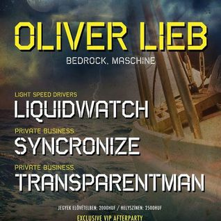 Oliver Lieb - Live at Private Mad Boat, Budapest (16-06-2012)