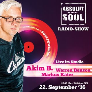 Absolut Soul Show /// 22.09.16 on SOULPOWERfm