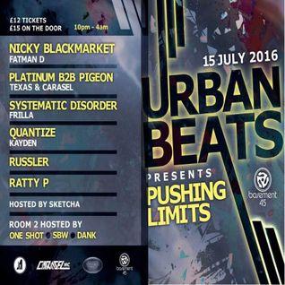 Urban beats Presents Pushing Limits  - Promo Mix
