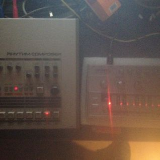 ARG Live Set TR-909+CASIO RZ-1+CYCLONE TT-303 BASS BOT