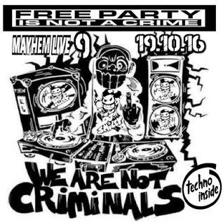 DJ SmiLeY - Mayhem Live 9