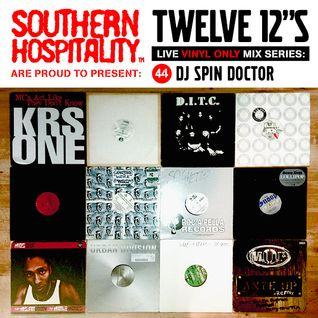 Twelve 12's Live Vinyl Mix: 44 - DJ Spin Doctor - DJ Premier Special Pt. 2!