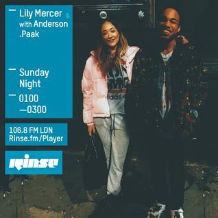 The Lily Mercer Show | Rinse FM | January 24th 2016 | Anderson .Paak