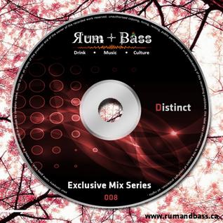 Distinct - Rum + Bass Exclusive Mix Series 008 - www.rumandbass.ca.