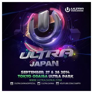 W&W @ Ultra Music Festival Japan 2014-09-27