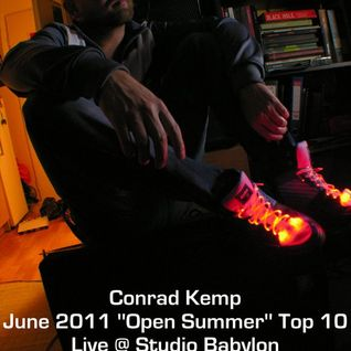 Conrad Kemp June 2011 ''Open Summer'' Top 10 Live Set for www.szokujacy.pl