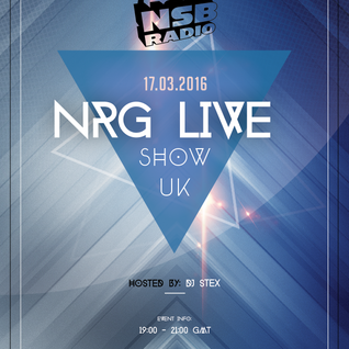 NSB Radio - NRG Live Show UK - 17 Mar 16 - Stex Ragga Jungle Set