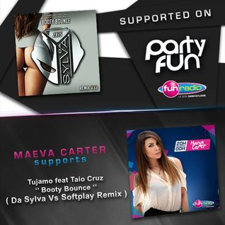 Da Sylva ''Booty Bounce'' version supported by Maeva Carter on Fun Radio