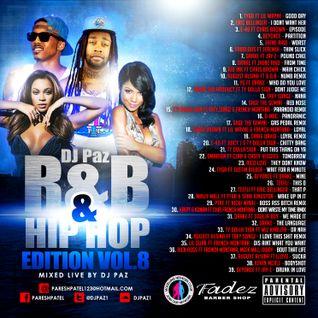 DJ PAZ RNB & HIP HOP VOL.8