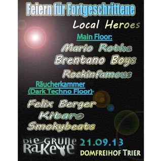 Smokybeats - Feiern für Fortgeschrittene @Grüne Rakete Trier 21.09.13