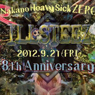 2012/9/21 ILLSTEEZ 8th Anniversary DJ Birdy