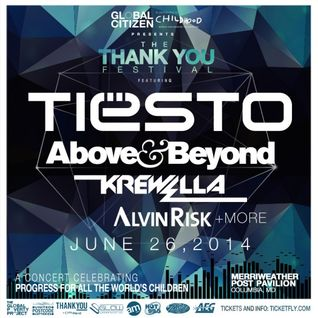 Above & Beyond – Live at Thank You Festival, Merriweather Post Pavilion Columbia, United States – 26