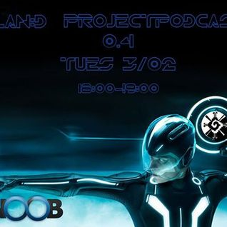 Fnoob Techno radio TEchno Tuesdays.  PROJECTpodcasts#04   dj plan D /   3rd FEb 2015   Dunfermlne