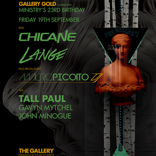 Chicane - Live @ Ministry of Sound London - 19.09.2014