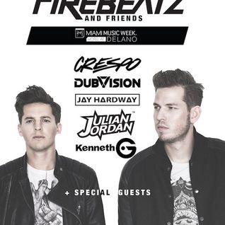 Firebeatz & Friends @ FDR, Delano Beach Club Miami, WMC, United States 2016-03-16