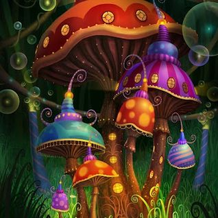 Harlequin Shrooms jumping Around