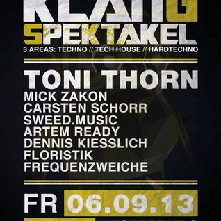 Frequenzweiche || 06.09.2013 // \\ Toni Thorn // \\ Cha Cha Westerburg