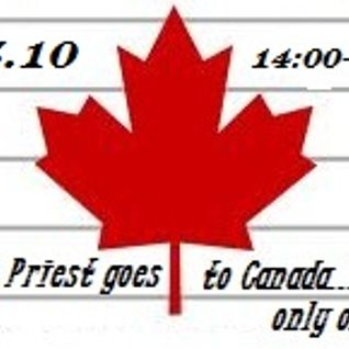Thomas Priest Goes to Canada/ bleepradio.gr 25.10.2012