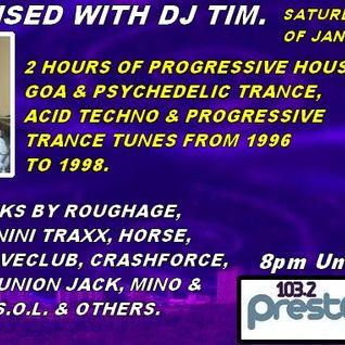 Energised With DJ Tim - 4/1/14/ - 103.2 Preston fm.