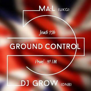 Mini Mix  de Dami1 tiré de l'émission Ground control sur Prun FM du 12/11/15