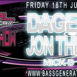 Nick D - DaGeneral Show - Bass Generator Radio July 2014