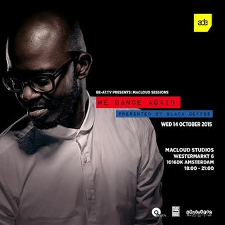 Black Coffee - Live @ We Dance Again (MacLoud Studio, Amsterdam) - 14-OCT-2015