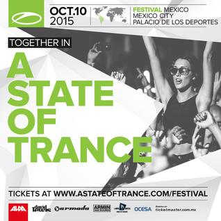 Ruben De Ronde - Live @ A State Of Trance Festival (Palacio de Los Deportes, Mexico) - 10.10.2015