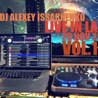 DJ Alexey Issachenko Live @ LaiF 29 Nov 2013 Vol.1 - WarmUp