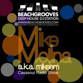 Casasoul Radio Show @ Beachgrooves Radio Vol 2