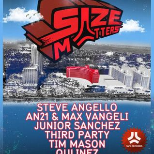 Steve Angello - Live @ Size Matters, Pool Party - 25.03.2012