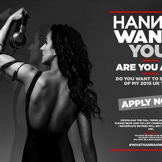 Hannah Wants - Competition Entry - DJ Daniel Broadhurst