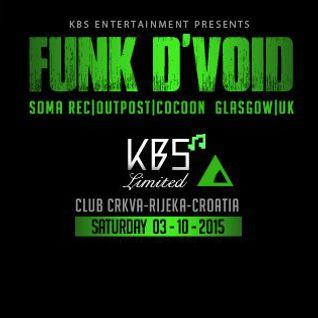 Funk D'void - Live at Crkva, Rijecka, Croatia (03-10-2015)