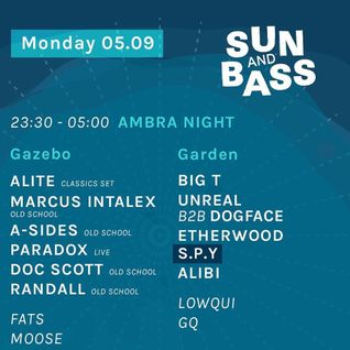 Big T @ Ambra Night - Sun and Bass 05/09/2016 - Warm Up set
